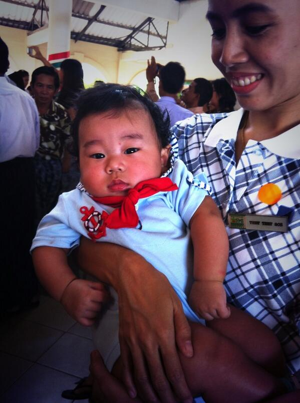 Length of breakup negotiations: This really cute baby was born around the same time of my breakup.